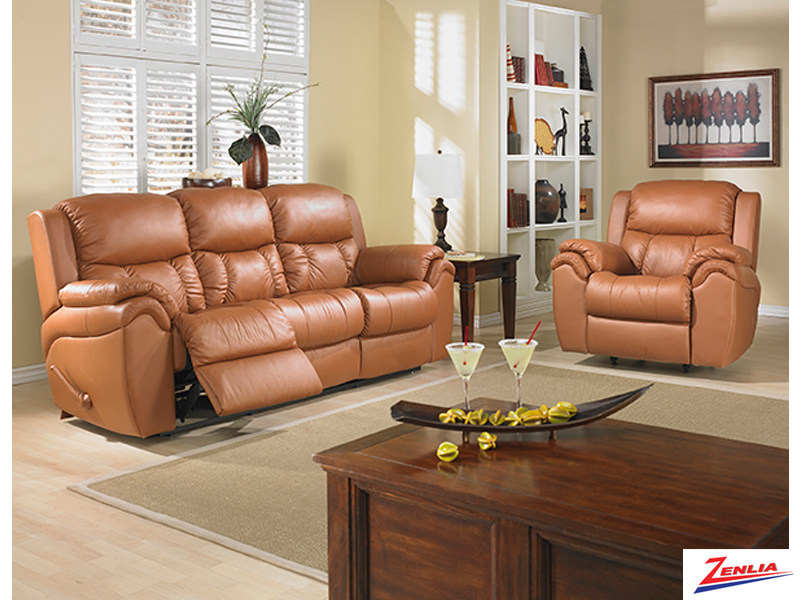 Mat Reclining Sofa Set