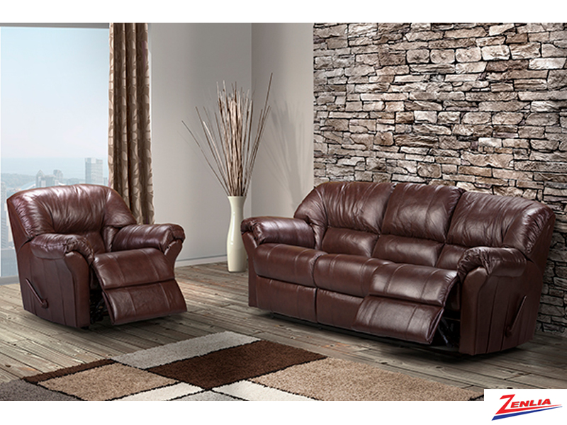 Tri Reclining Sofa Set