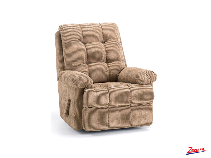 Style T0492 Heat & Massage Recliner Chair
