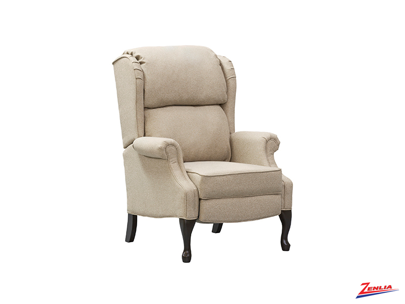 Style W0002 Wing Push Back Recliner