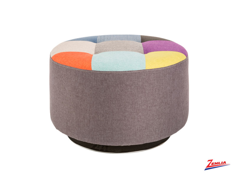 Gabb Swivel Ottoman Large