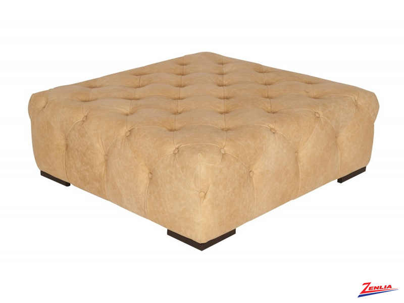 Fully Tufted Square Ottoman