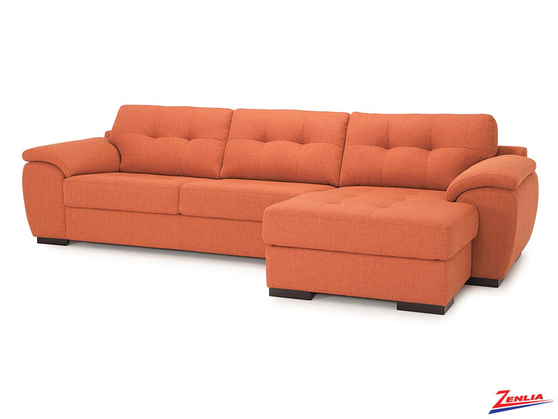 Long Stationary Sectional Sofa