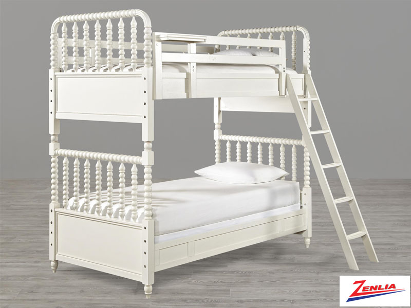 Bella Twin Over Twin Bunk Bed