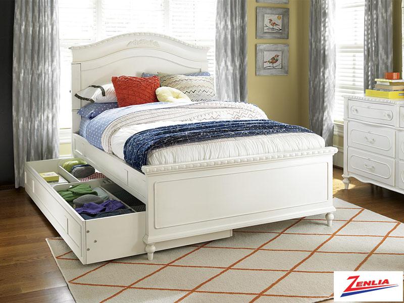 Bella Trundle Storage Bed Bella