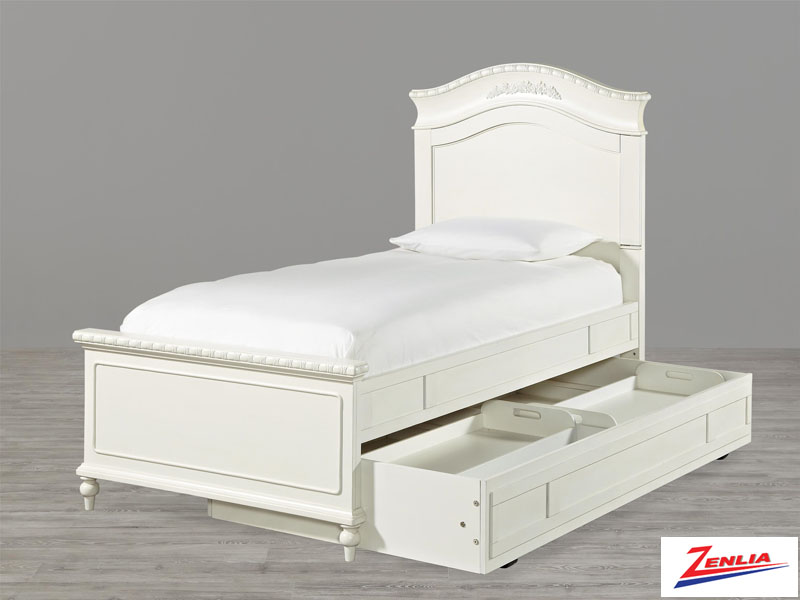 Bella Trundle Storage Bed