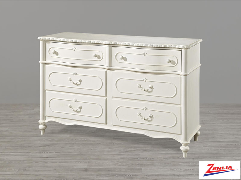 Bella 6 Drawer Dresser
