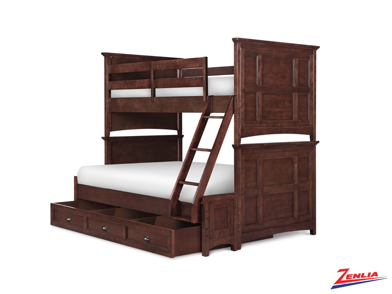 Ril Twin Over Full Bunk Bed