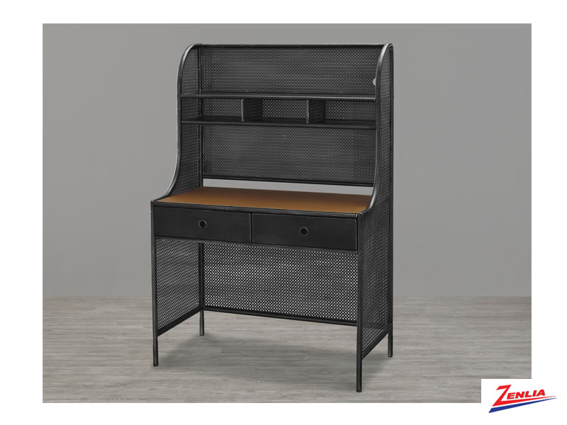Black Metal Desk