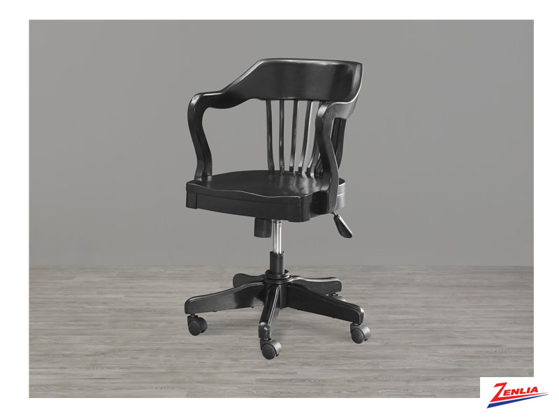Black Banker's Chair