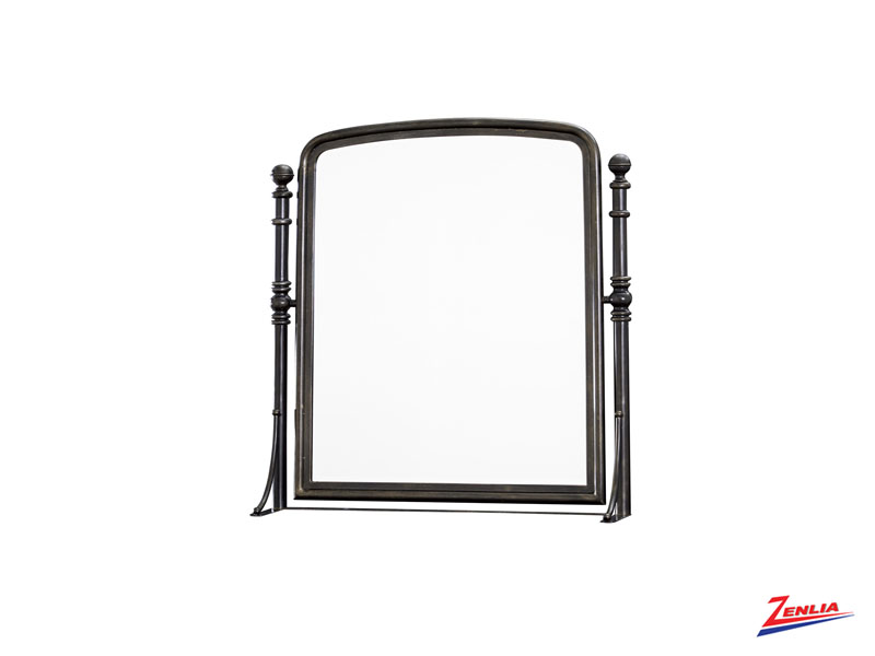 Black Tilt Mirror
