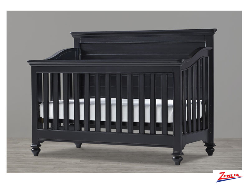 Black Convertible Crib