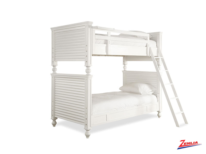 White Bunk Bed Twin Over Twin