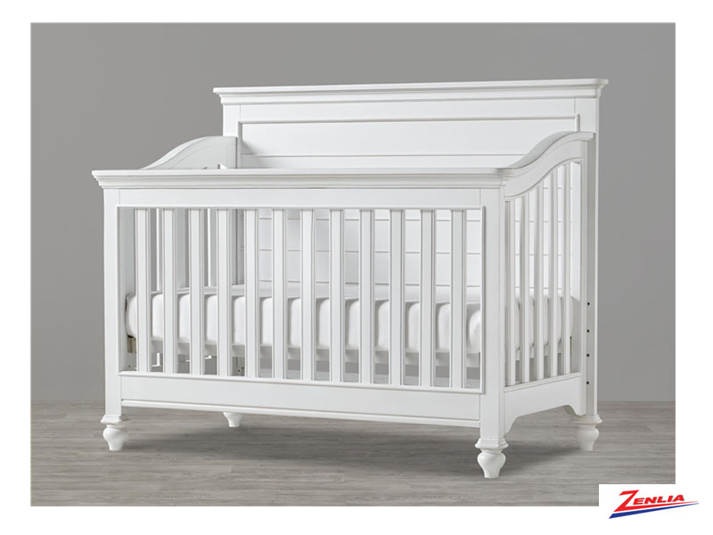 White Convertible Crib