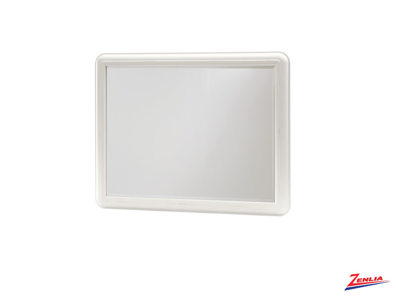 White Land Scape Mirror