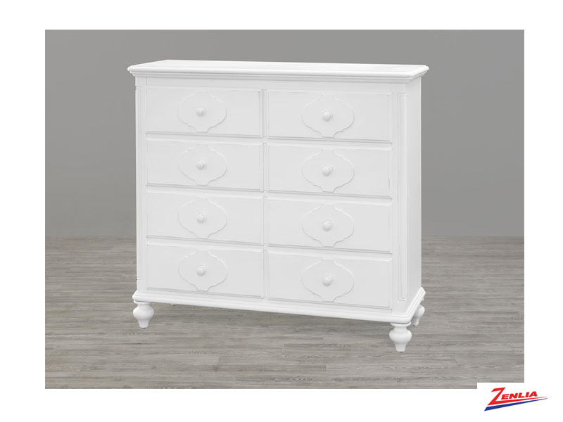 White Dressing Chest