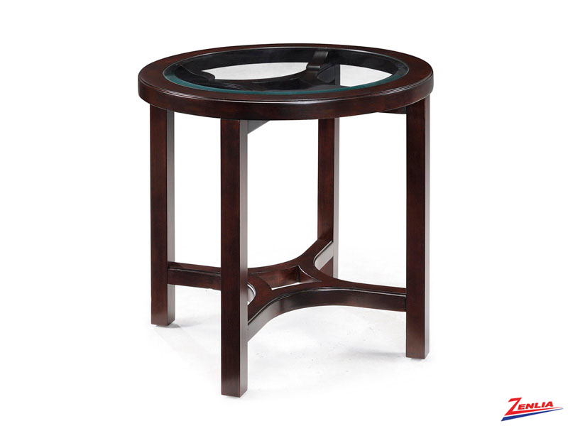 Juni Round End Table