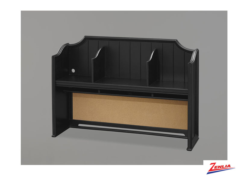 Black Desk Hutch