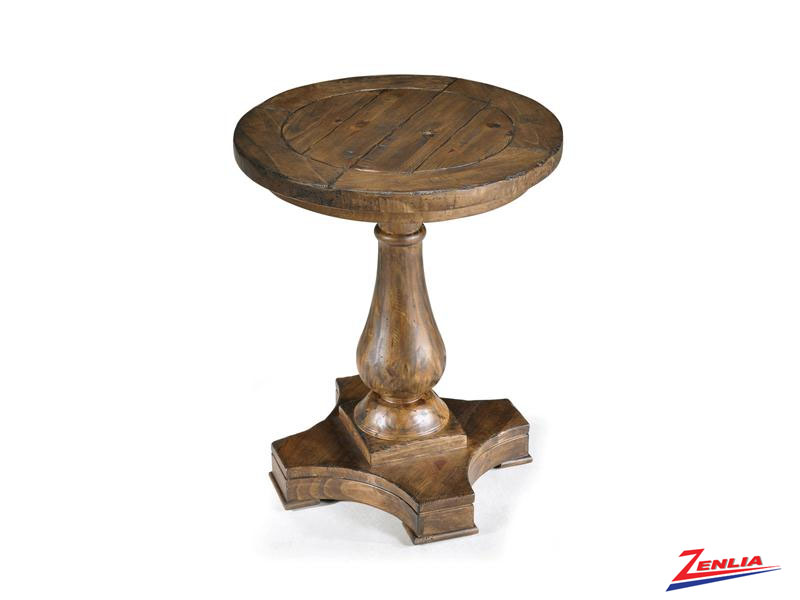 Dens Round Accent Table