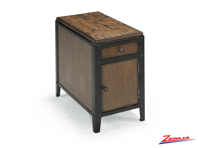 Pine Chairside End Table