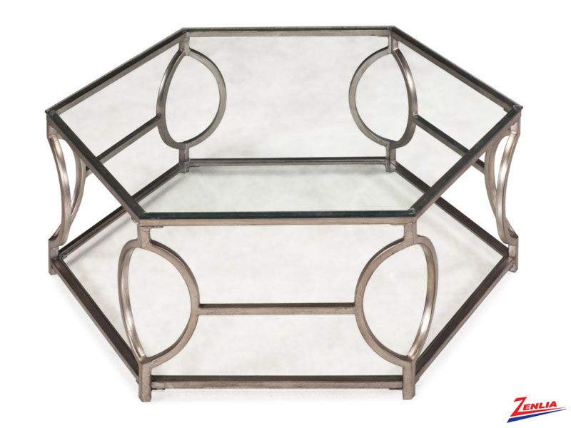 Neve Hexagonal Coffee Table