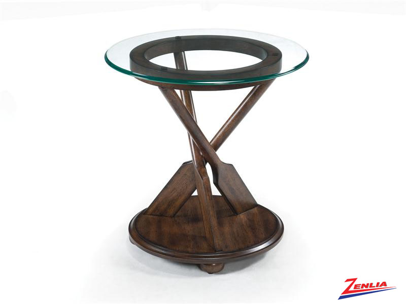 Beau Round End Table