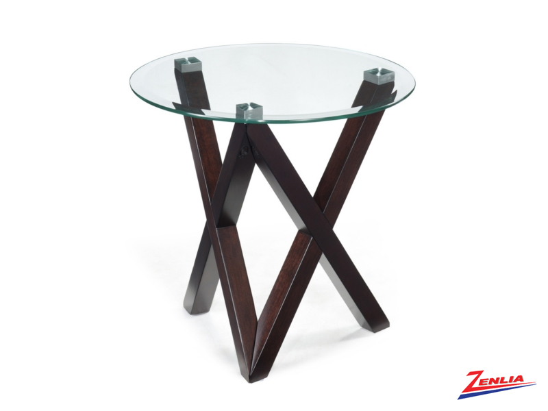 Vis Round End Table