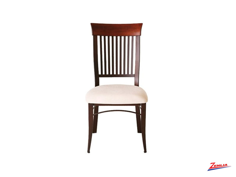 Anna Fabric Metal Chair