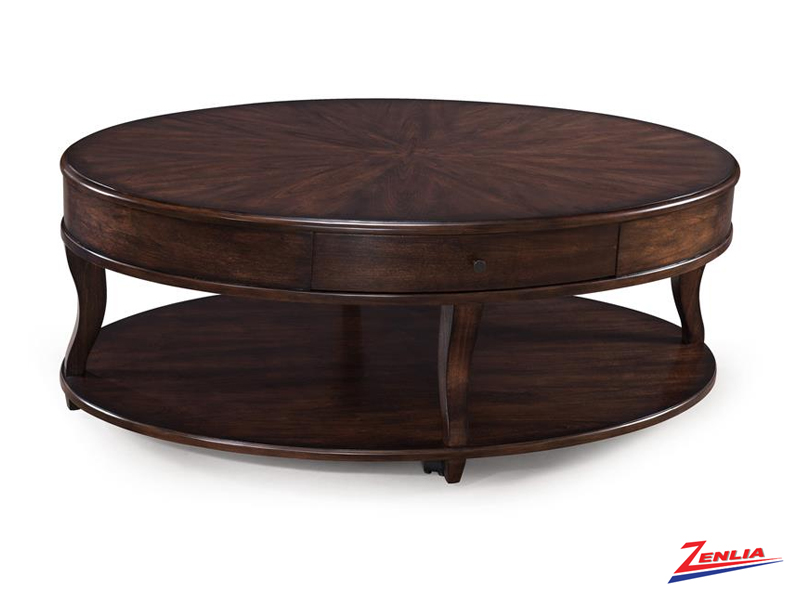 Made Oval Coffee Table