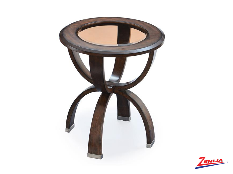 Dec Round End Table