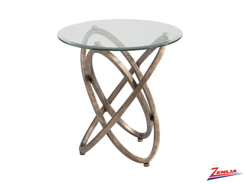 Esca Round End Table