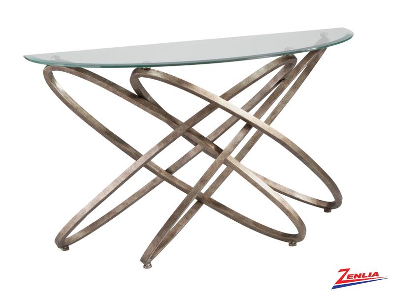 Esca Demilune Sofa Table