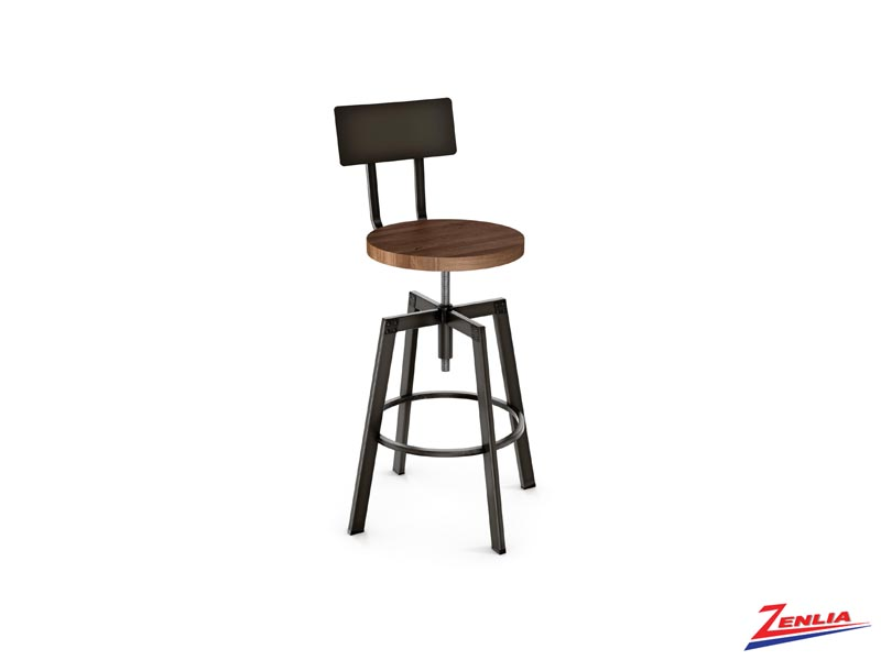 Style 40-563 Metal Wood Screw Stool