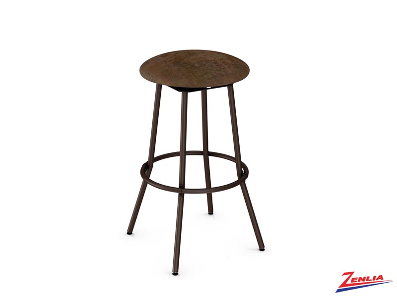 Style 42-565  Metal Fabric Swivel Stool
