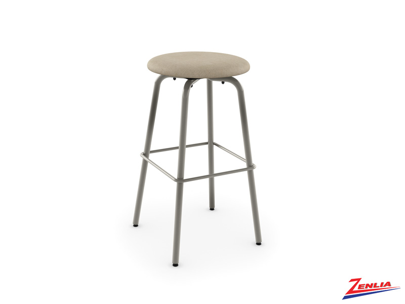 Style 42-460  Metal Fabric Swivel Stool
