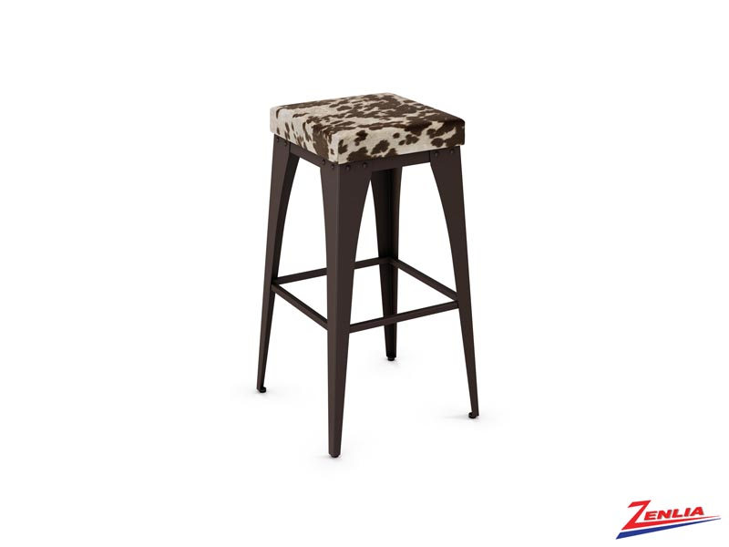 Style 42-564 Non Swivel Metal Fabric Stool