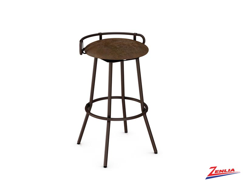 Style 41-565 Metal Fabric Swivel Stool