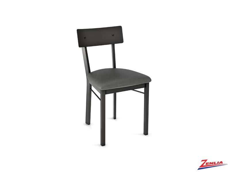 Laur Cushion Chair Metal Back