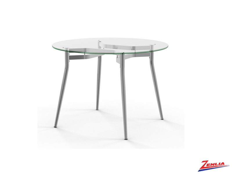 Aly Round Glass Table