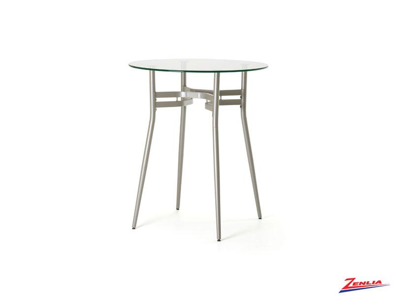Ana Round Glass Pub Table