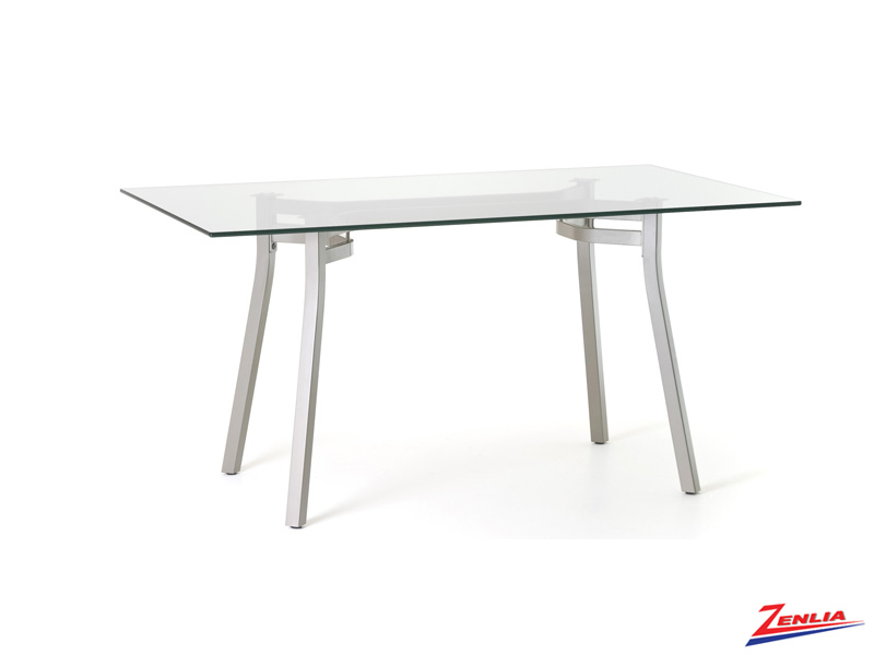 Ana Rectangular Glass Pub Table
