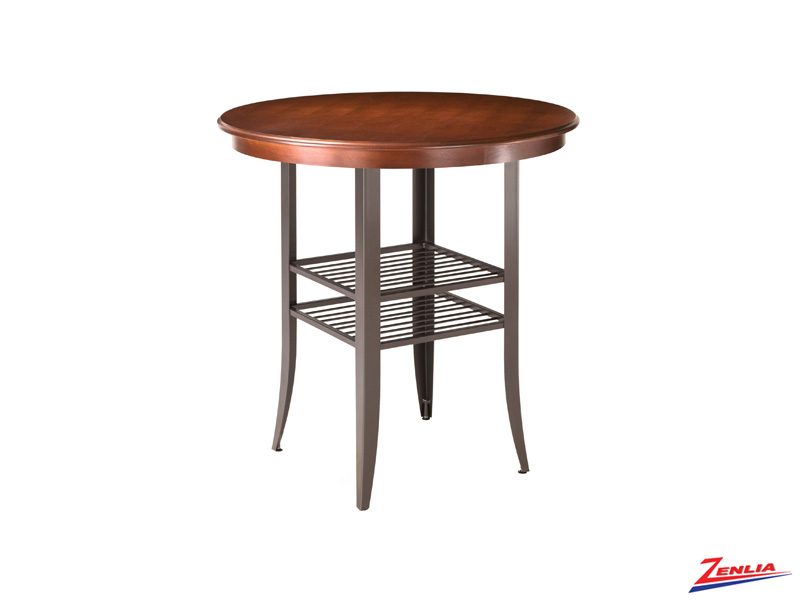 Andy Round Wood Pub Table