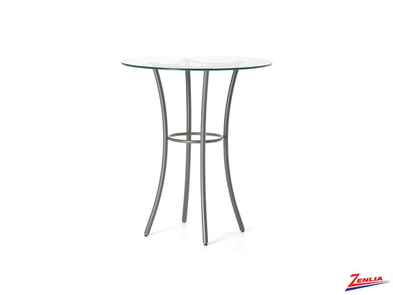 Lotus Glass Pub Table