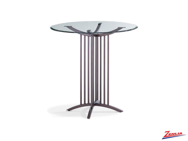 Robertson Glass Pub Table