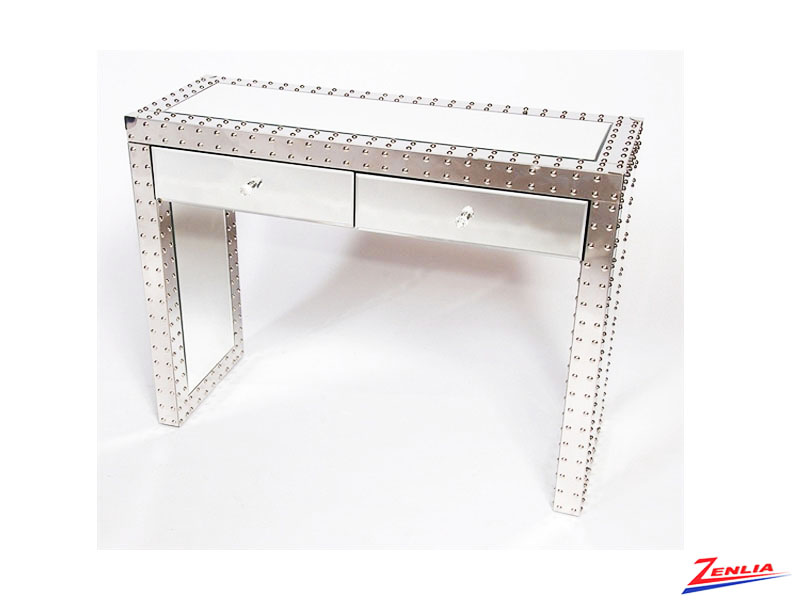 Indus Mirrored Console Table