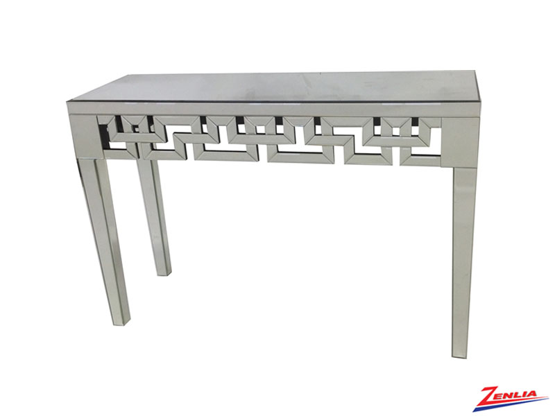 Tiff Mirrored Console Table