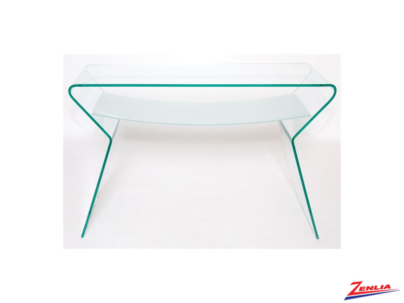 Shad Mirrored Console Table