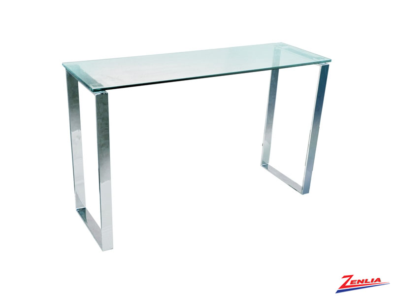 Casp Mirrored Console Table