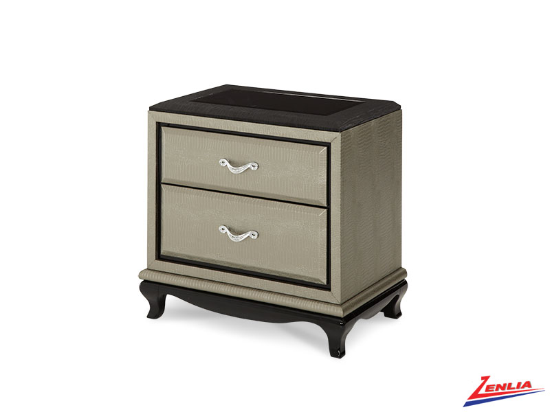 After Grey Nightstand On Clearance