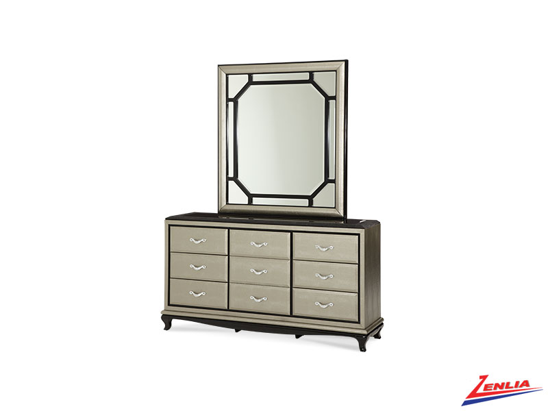 After Eight Dresser & Mirror